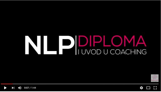 NLP Diploma Coaching